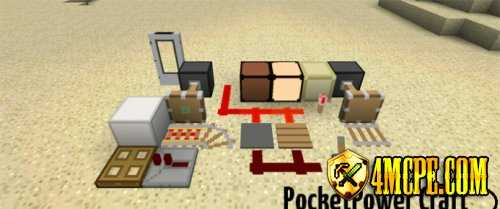 Текстур пак PocketPower Craft для Minecraft PE 0.11.1, 0.11.0