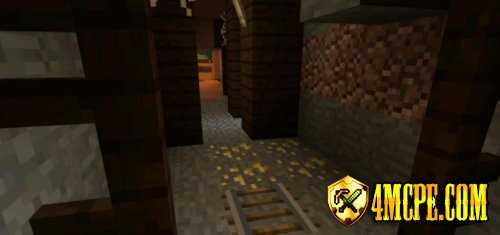 Сид Mesa Mineshafts & Plenty of Gold для MCPE 0.11.1, 0.11.0