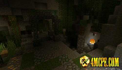 Карта Hide N Seek Caves для Minecraft PE 0.12.1
