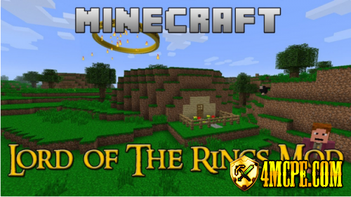 Мод Lord Of The Rings — Средиземье в Minecraft PE 0.12!