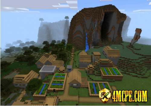Extreme Hills, Stronghold & Village Seed