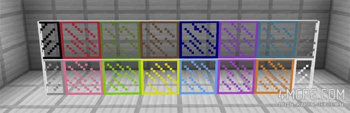 Мод Stained Glass [Цветные стекла] 1.0, 0.17.0, 0.16.x